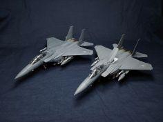 아카데미 1/72 F-15K 도색완성작입니다.