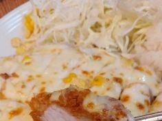 옳게된 치즈 돈까스